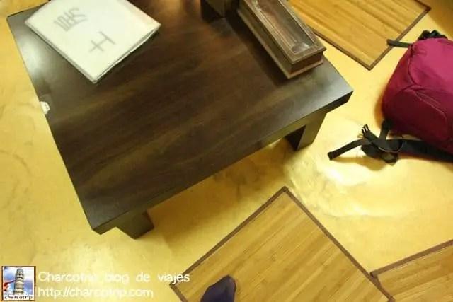 Nuestra mesa al puro estilo coreano