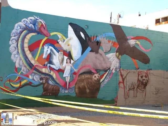 Este mural aun no esta terminado