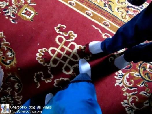 Sin zapatos