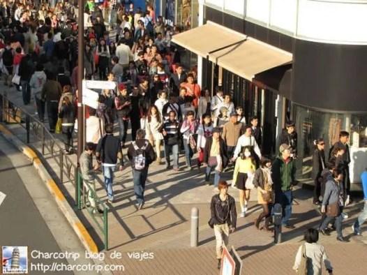 Mucha gente en las calles