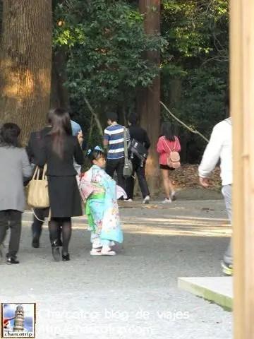 Había visto muchos chiquillos en kimono pero no me atrevía a tomarles la foto descaradamente, pero aqui pude hacerlo discretamente, lastima que la luz no alcanzo para que saliera mas nítida