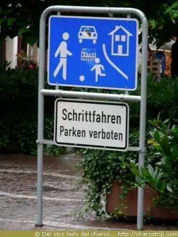 Otro letrero en aleman!!!