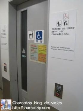La puerta hacia el toilet