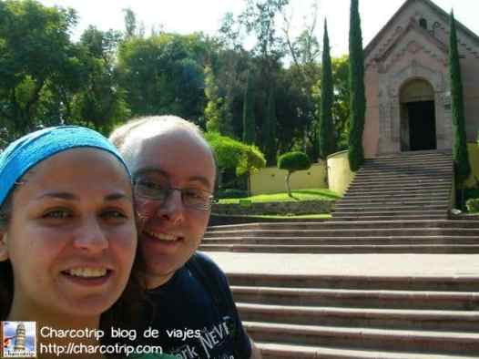 Nosotros con la capilla