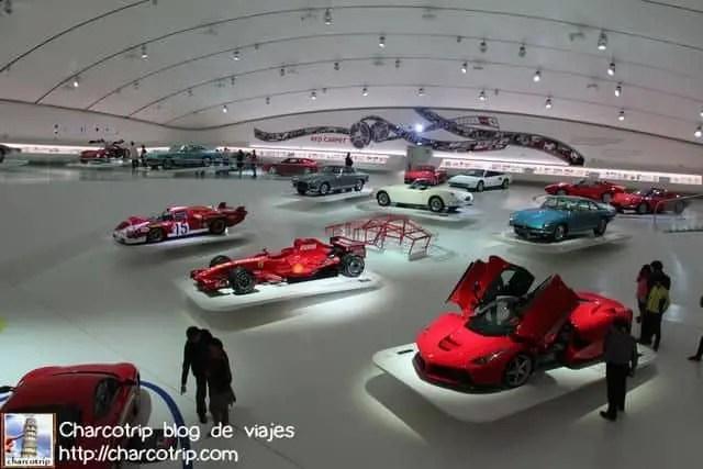 La alfombra roja de Ferrari