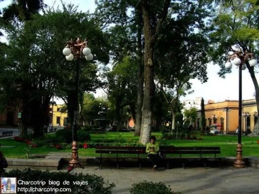 Parque cerca del hotel