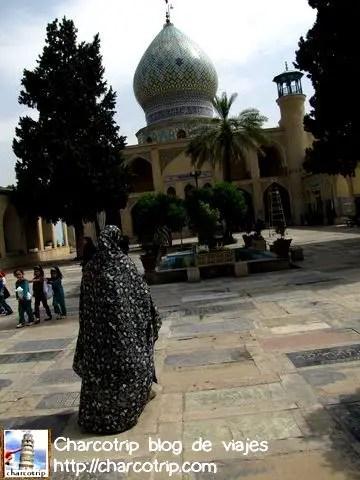 shiraz Imamzadeh llegada