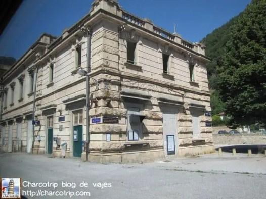 Estacion de la epoca de Mussolini