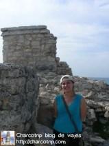Templo de la Diosa Ixchel en Isla Mujeres y yo