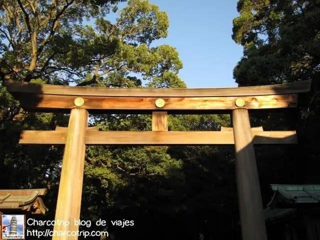 La torii nos dice: no olvides comprar tus souvenirs XD (hehe no es cierto)