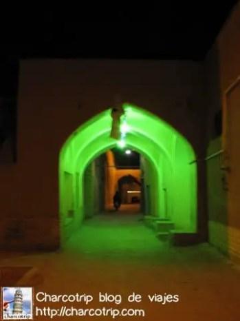 El túnel verde hacia nuestra cena