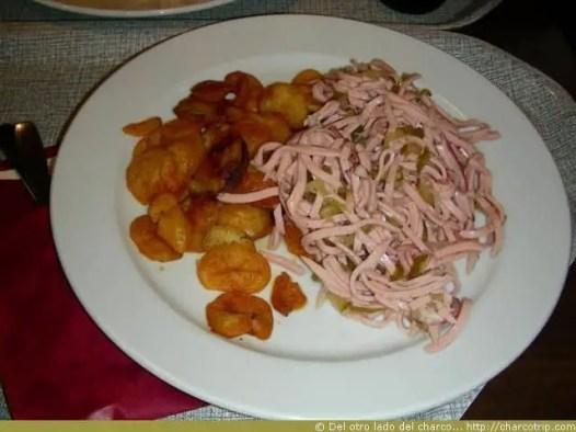 Wurstensalat mit kartofel, una ensalada no es siempre light