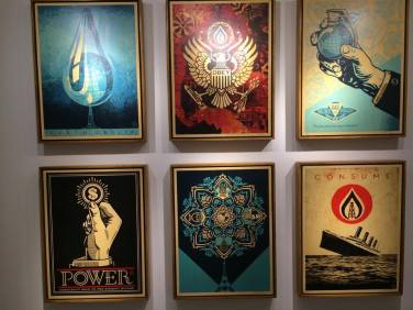 Shepard Fairey @ over the influence