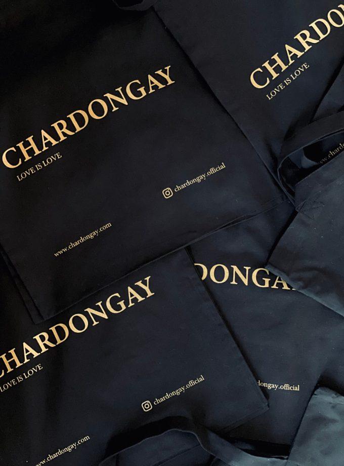 Chardongay tote bag