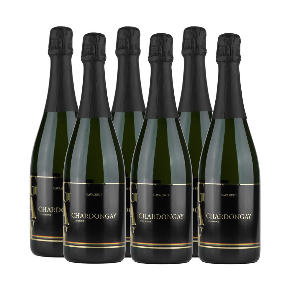 6 bottles Chardongay Cava