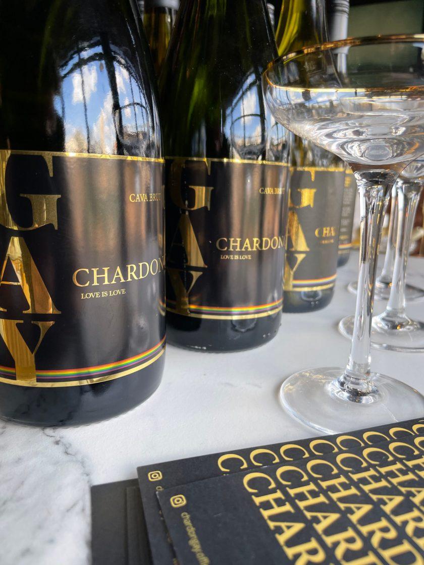 3 bottles Chardongay Cava