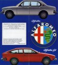 Alfa Romeo Alfetta Sales Brochure Cover