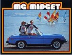 979 MG Advertising Brochure Cover