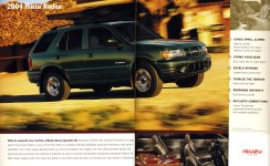 Foldout picture of the Isuzu 2004 Rodeo SUV