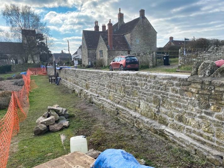 Burial Ground Wall Refurbishment