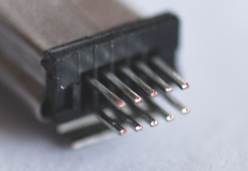 small resolution of 10 pin mini usb pinout