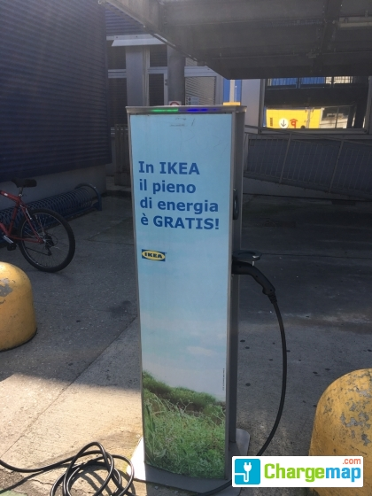 Ikea Carugate Scame Charging Station In Carugate