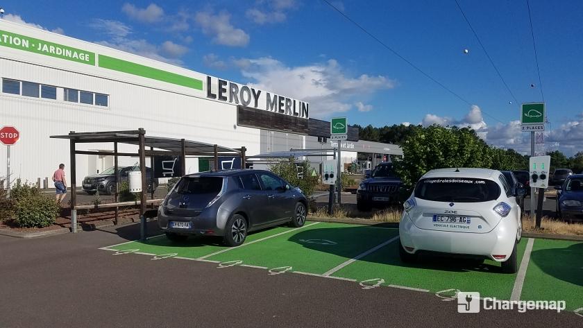 Leroy Merlin Biganos Charging Station In Biganos