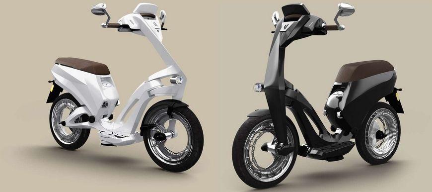 scooter électrique ujet