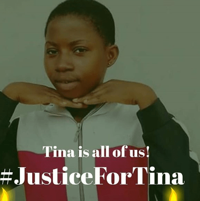 #JusticeforTina: Trigger-happy police officer allegedly shot 16-year-old girl dead in Lagos (video)