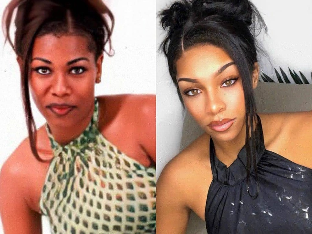 PHOTO OF  THE DAY: Wow!..The resemblance between mother and daughter is uncanny.