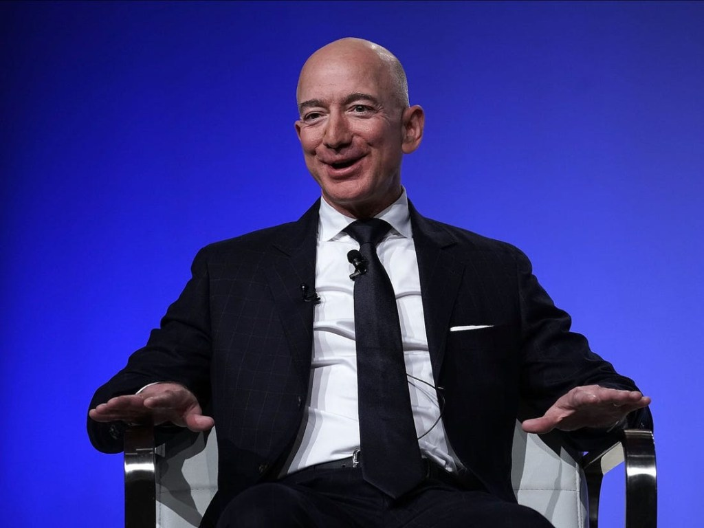 Jeff Bezos: Amazon CEO, Becomes First Person In The World To Hit $200 billion Net Worth