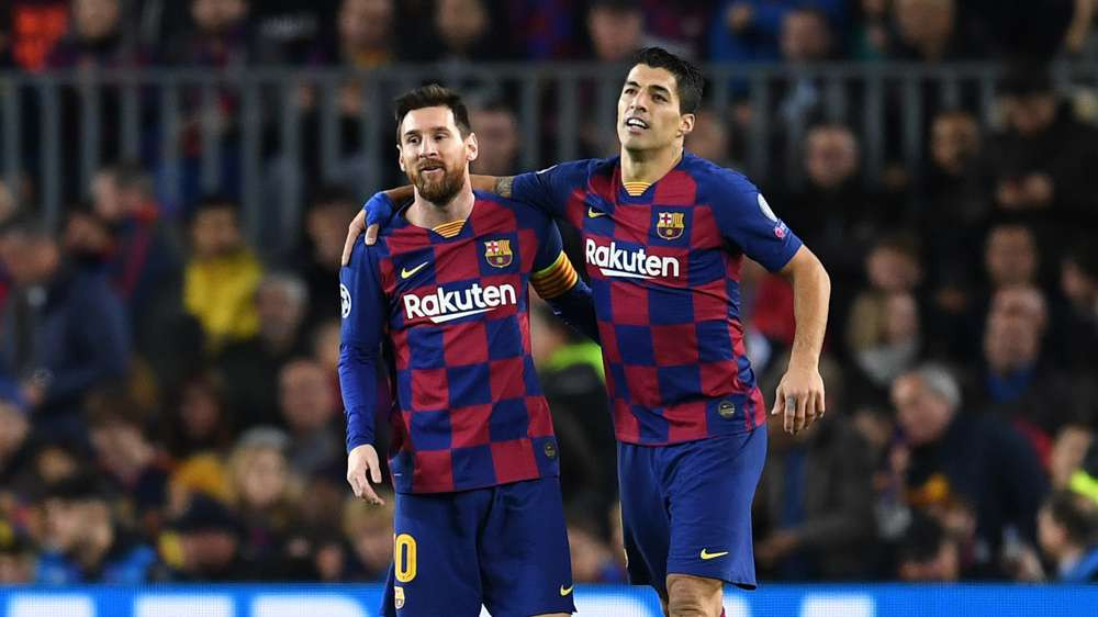 """I'll be happy if Lionel Messi does well at Barcelona and if he has to go to another club, I'll be happy too."""" – Luis Suarez"""