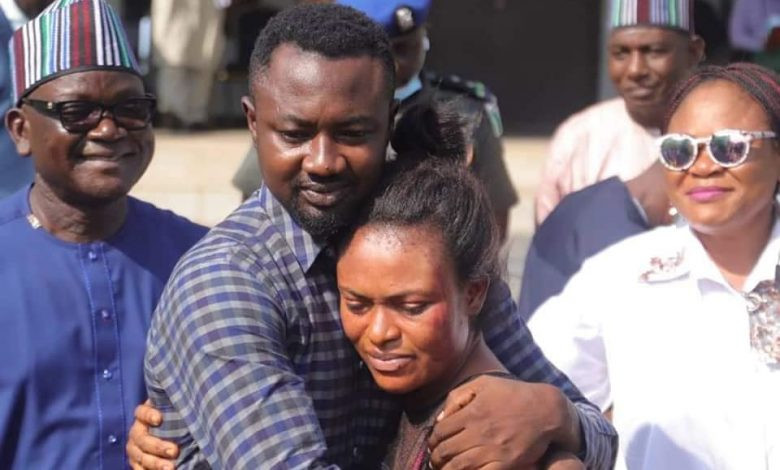 """UPDATE on #channelstv reporter: """"Pius Angbo reconciles with his wife after Governor Ortom, Benue State Governor, intervenes…."""""""