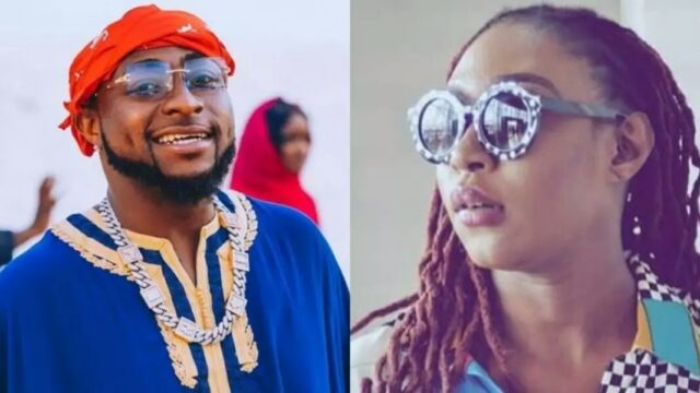 """Cynthia Morgan reveals that it's been 3months Davido didn't pick her calls or reply her WhatsApp messages after asking her to reach out to him"" (watch video)"