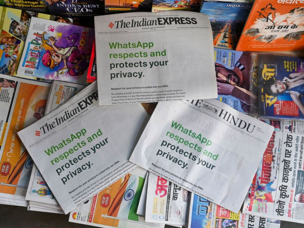 "BREAKING NEWS: ""WhatsApp has made a mockery out of our Fundamental Right to Privacy as more than 25 million users join 'Telegram' in the last 72 hours and 'Signal' currently ranks at the top"""