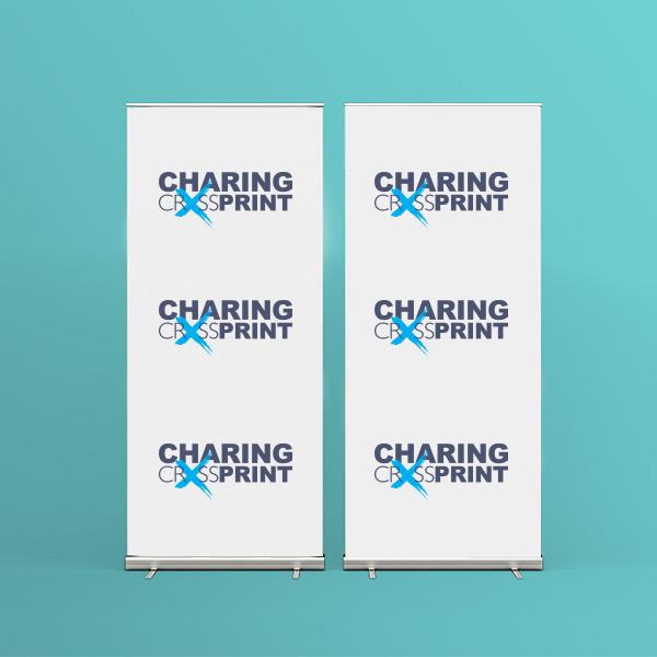 cheap roller banner printing London