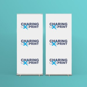 cheap roller banner printing London