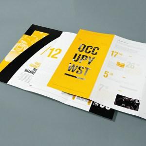 folded leaflet printing cheap london