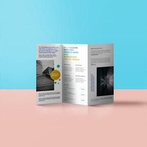 folded leaflet printing london