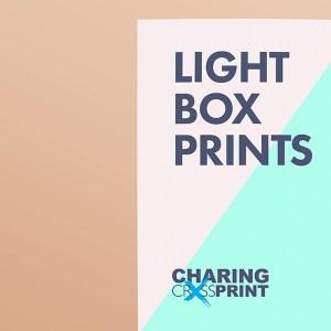 light proof duratrans printing