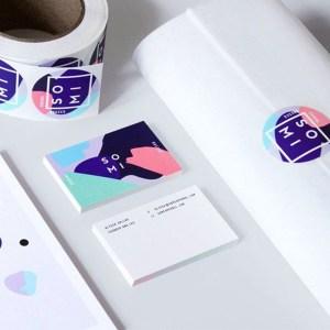 sticker printing London