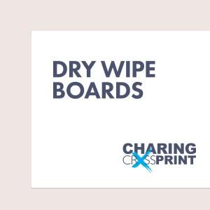 dry wipe board printing