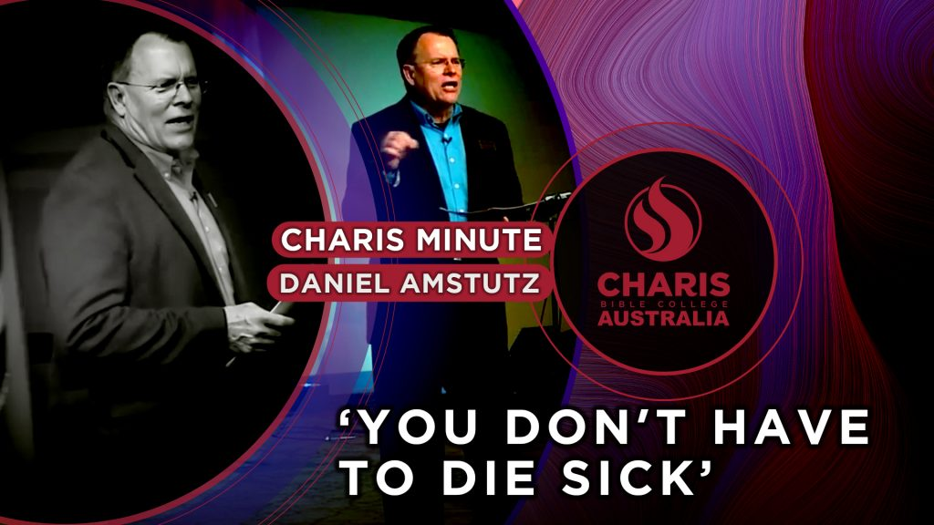 You Don't Have to Die Sick – 6