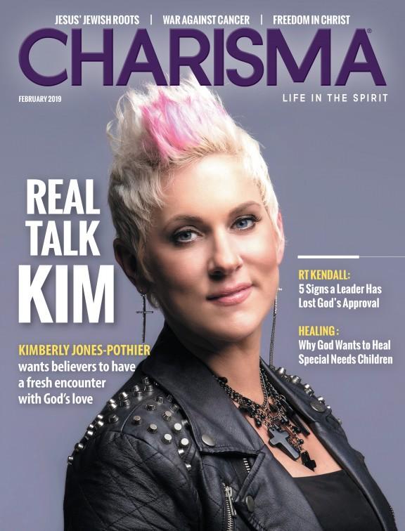 Charisma Magazine cover
