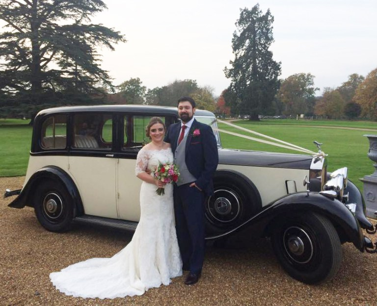 rolls-royce-1937-Albert-with-the-happy-couple-november-wedding