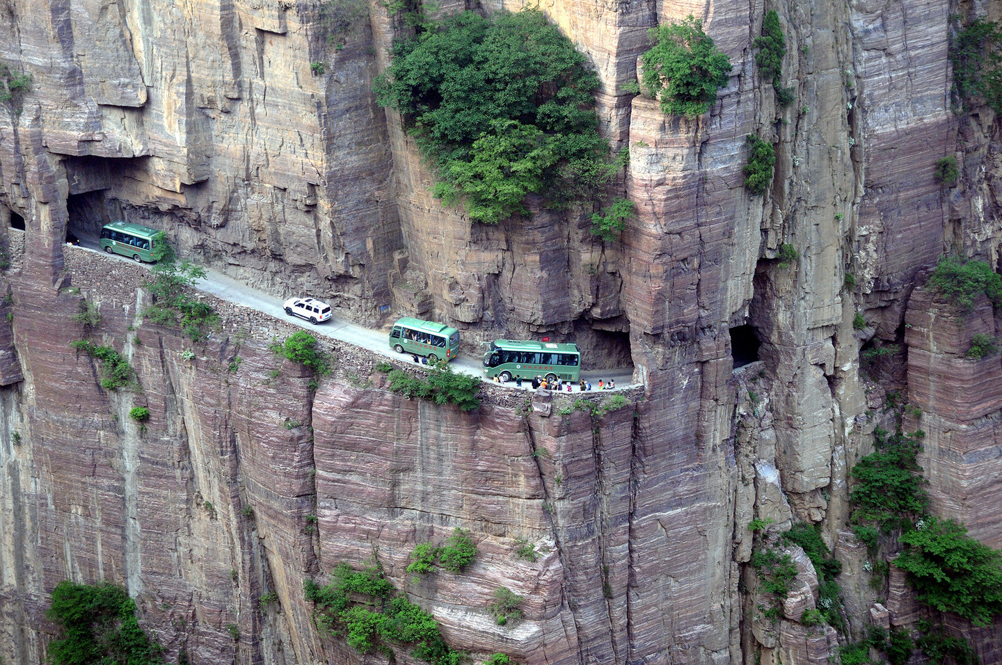 Image result for Guoliang Tunnel