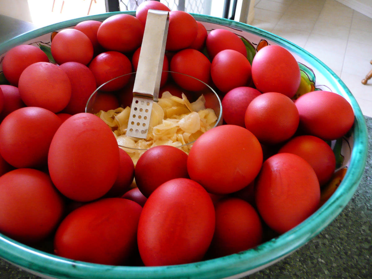 Chinese Red Eggs Charismatic Planet