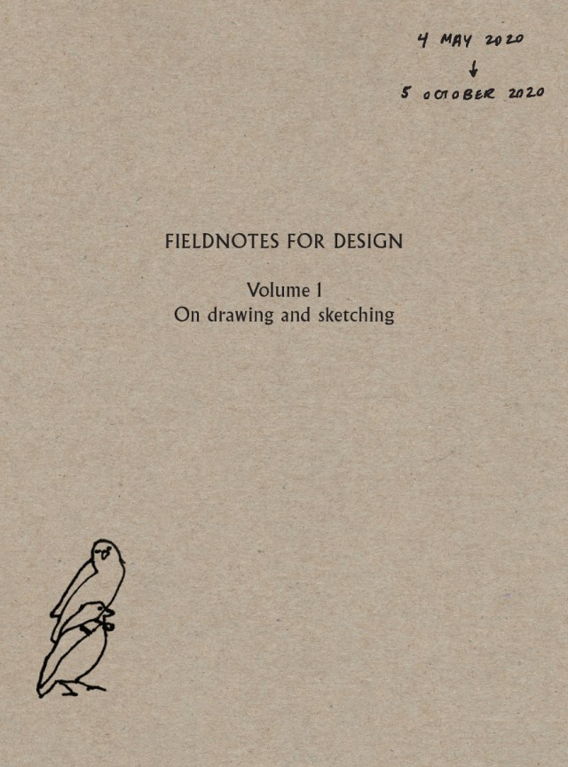 Fieldnotes for Design