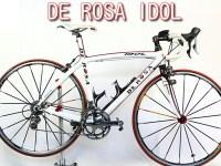 ロードバイク買取 DE ROSA IDOL bianco rosso 57 slope