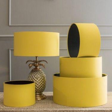 Pineapple lamp/shade, Graham and Green